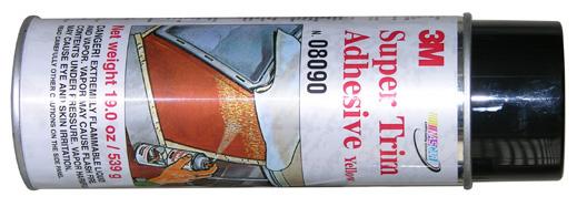 Super Trim Spray Adhesive