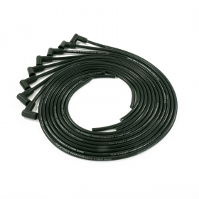 8.5MM Universal Black Ignition Wires with 90 Degree Plug Boots