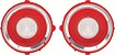 70-71 RS Camaro Backup Lens - Circular Optic