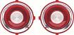 70-71 Standard Camaro Backup Lens - Circular Optic