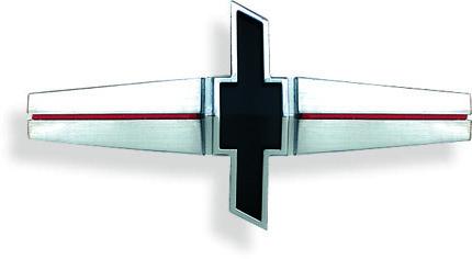 "68 Camaro Standard ""Bowtie"" Grill Emblem, Repro"