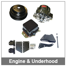 67-68-69 Camaro Engine & Underhood Parts