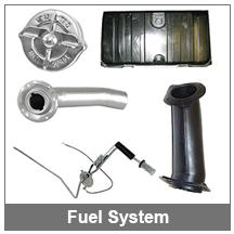 67-68-69 Camaro Fuel System Parts