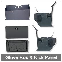 67-68-69 Camaro Glove Box & Kick Panel