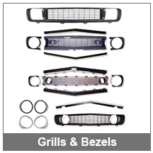 67-68-69 Grills and Headlamp Bezels