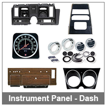 67-68-69 Camaro Instrument Panel - Dash Components