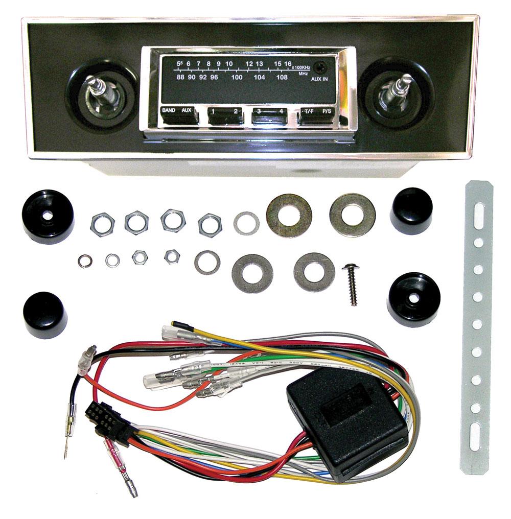 67-69 Camaro Radios & Parts
