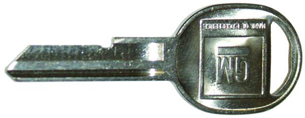 69 Camaro Glove Box/Trunk Key
