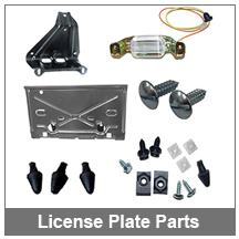 67-68-69 Camaro License Plate Parts