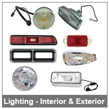 67-68-69 Camaro Exterior and Interior Lighting