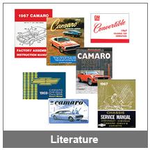 67-68-69 Camaro Literature