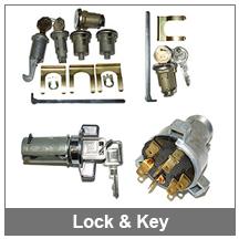 67-69 Camaro Lock and Keys