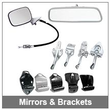 67-69 Camaro Interior and Exterior Mirrors