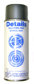 Rally Wheel Paint - Silver