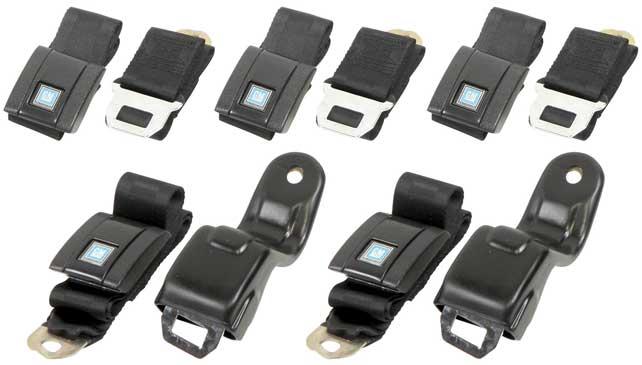 67-69 F-body OEM Style Standard Seat Belt Set