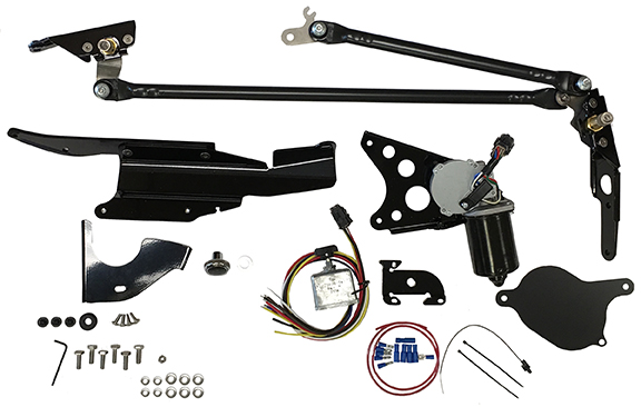 67-69 Camaro/Firebird & 68-74 Nova RainGear Wiper System - No Delay