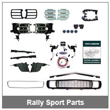 67-68-69 Camaro Rally Sport Parts