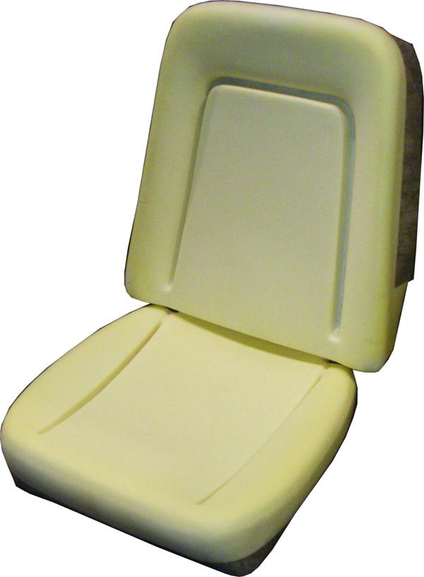68-69 Camaro Deluxe Bucket Seat Foam, Pair