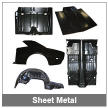 67-68-69 Camaro Sheet Metal