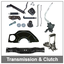 67-68-69 Camaro Transmission and Clutch Parts
