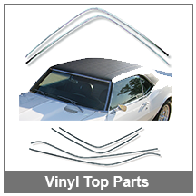 67-68-69 Camaro Vinyl top parts