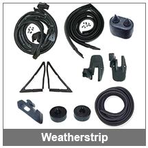 67-68-69 Camaro weatherstrip parts and kits
