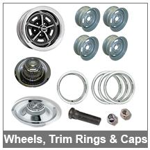 67-68-69 Camaro wheels, trim rings, and hub caps