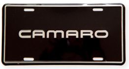 Camaro License Plate