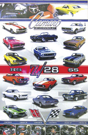 Camaro by Chevrolet Poster