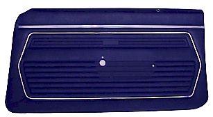 69 Camaro Preassembled Standard Door Panels, Pair