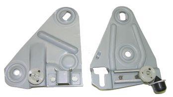 68-69 F-body Door Glass Mounting Plate Set