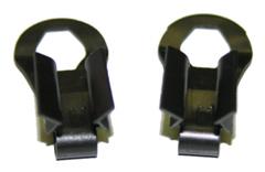 67-69 Camaro Door Opening Rod Retainer Clips, Pr