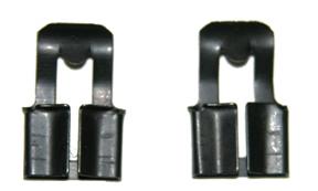67-69 Camaro Inner Door Lock Rod Clips, pair