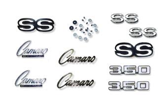 69 Camaro SS-350 Emblem Kits