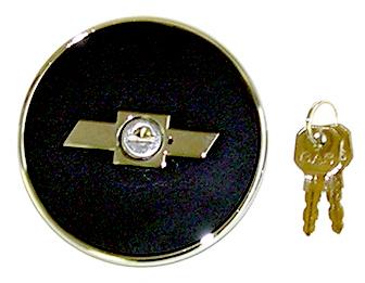 67-68 Camaro Bowtie Locking Gas Cap