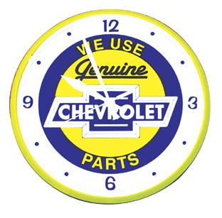 We Use Genuine Chevrolet Parts Clock