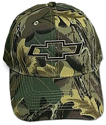 Chevy Bowtie Camouflage Twill Hat
