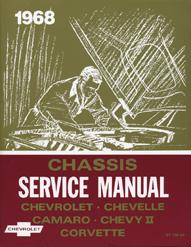 1967-68-69 Camaro Chassis Service Manual