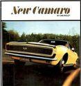 67-69 Camaro Dealer Brochure