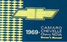 67-69 Camaro Owners Manual