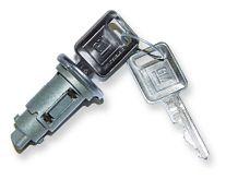 67 Ignition Lock & Key Set - Late Style