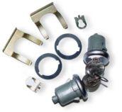 67-68 Door Lock & Key Set - Original Style