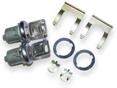 69 Orig Style / 67-68 Later Style Door Lock & Key Set