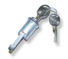 67-68 F-body Glove Box Lock & Key - Late Style
