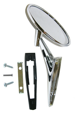 67 Reproduction Outer Door Mirror