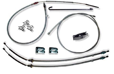 69 Camaro Stainless Steel Parking Brake Kit