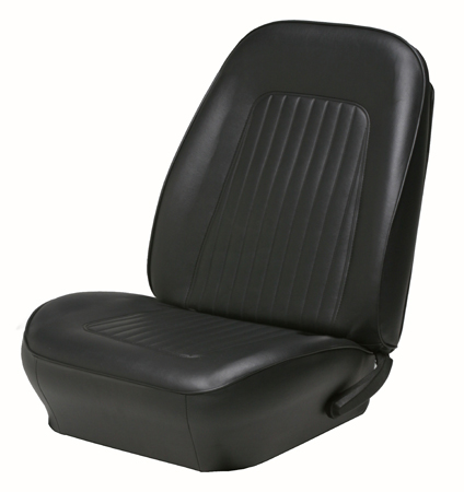 67-68 Camaro TMI Standard Sport Seat Covers Buckets only, pr.