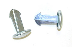 67-70 F-bodies Fasteners for Bucket Seat Hinge