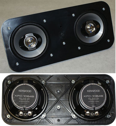 67-69 Camaro In Dash Kenwood Speaker, pair
