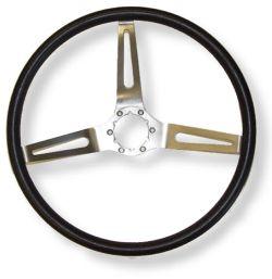 Black Comfort Grip Steering Wheel
